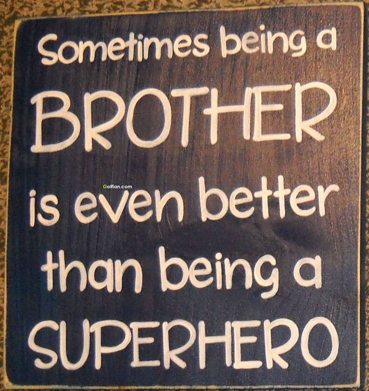 65+ Wonderful Little Brother Quotes – Beautiful Younger Brother ...