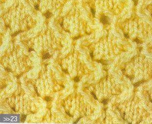 Patrón #1365: Punto Calado a Dos Agujas | CTejidas [Crochet y Dos Agujas]