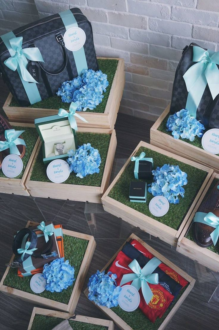 Hantaran for him