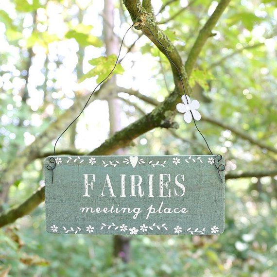 Fairy Plaque By Vintagebellecandles On Etsy. Meeting PlaceGarden  AccessoriesOutdoor ...