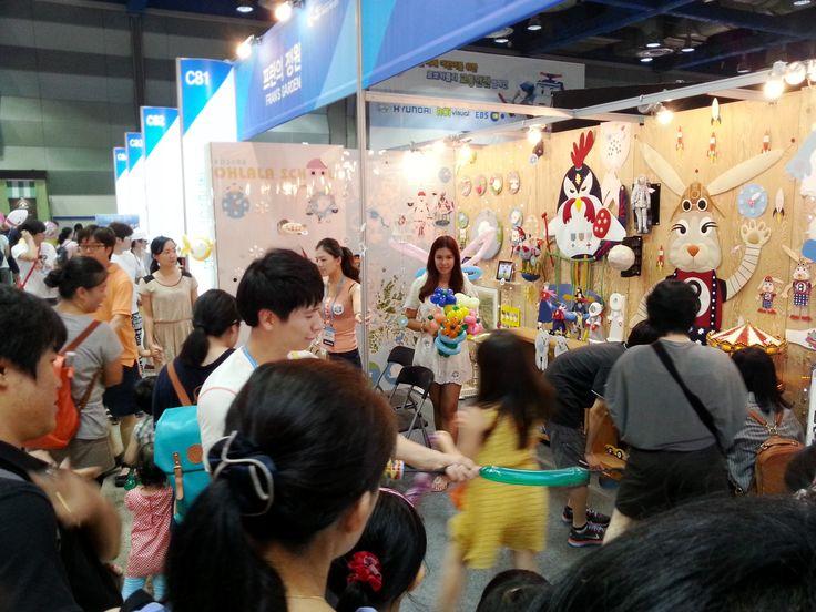 2013, Seoul Character & Licensing Fair.  AD 2088, Ohlala School + Amy April & 9(nine) Flyers ! :)