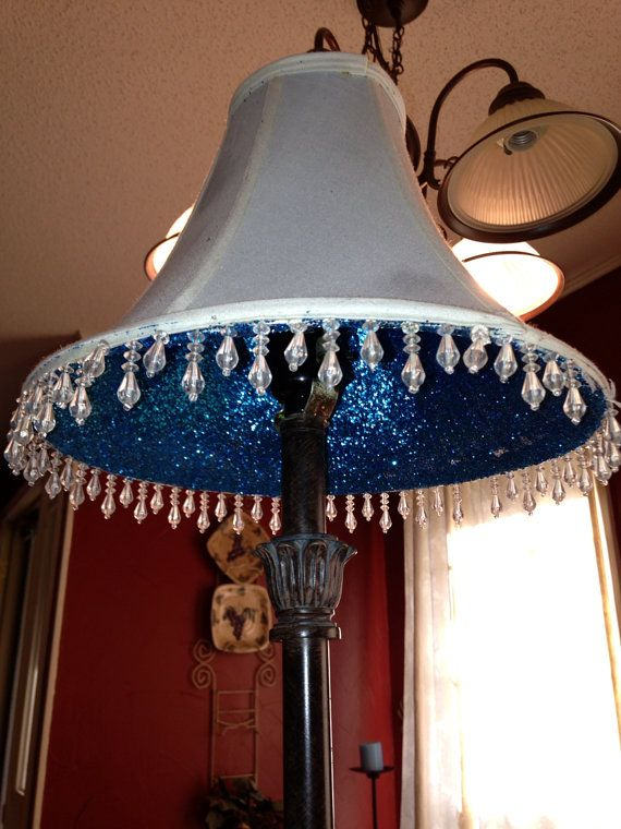 32 best hat lamp shades glitter shades images on pinterest custom made glitter lamp shade on etsy 2500 choose your own color mozeypictures Images