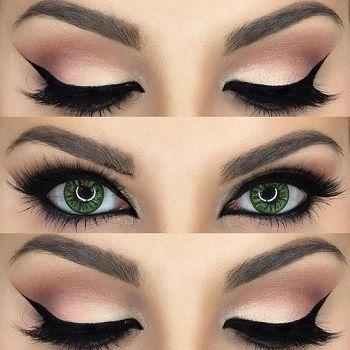 عيون جريئة2015   Arabic eye makeup