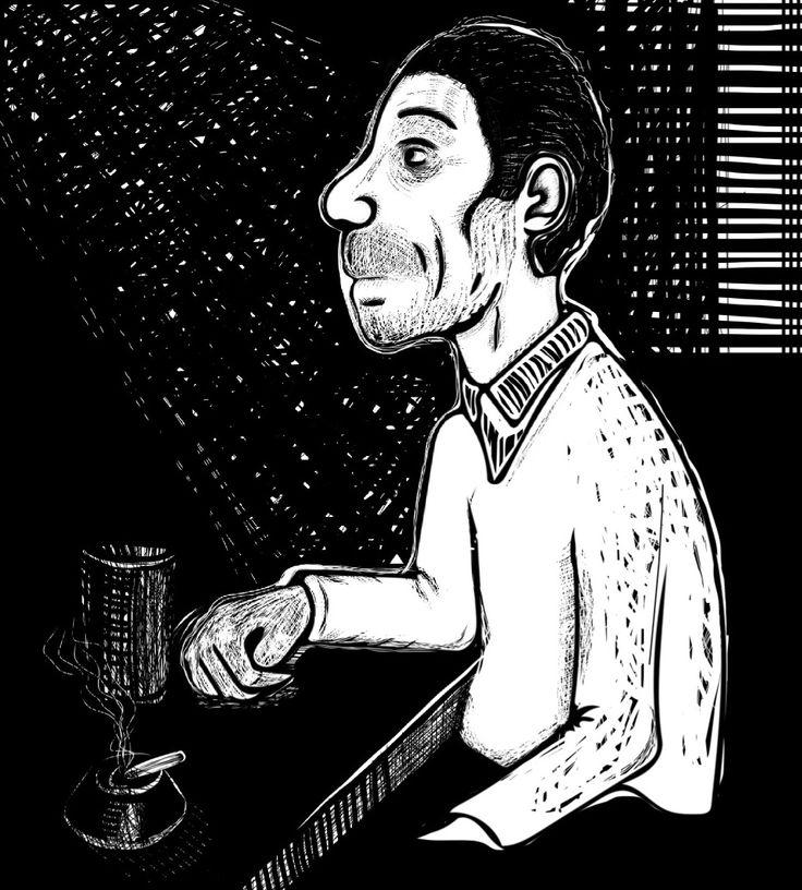 """Angst essen die Seele auf""  Ricardo Castillo Sandoval © 20016"