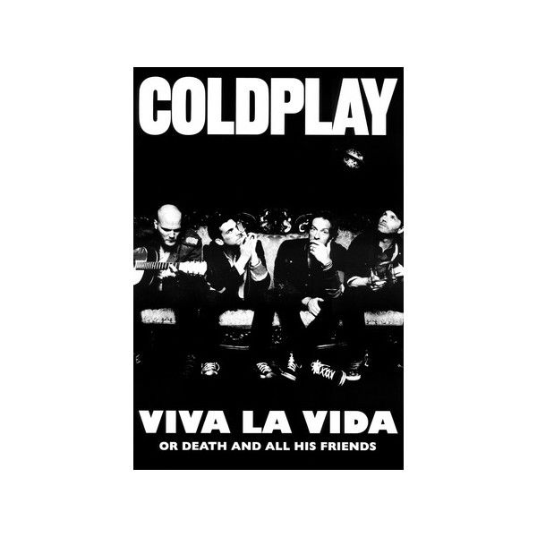 Coldplay Viva La Vida Music Poster Print Poster ($9.99) ❤ liked on Polyvore featuring home, home decor, wall art, music wall art, music themed wall art, music themed home decor, music posters and music home decor