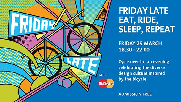 Wonderful free event hosted by the V Museum. A must for all London based cycle enthusiasts! 29th March 2013.