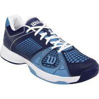 Wilson Tennis shoe Rush NGX Men dark blue/light blue/White
