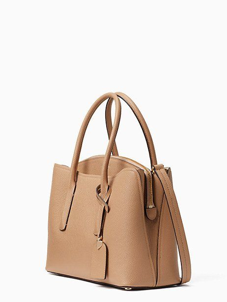 76e8a0420 Kate Spade Margaux Medium Satchel, Light Fawn in 2019 | Products ...