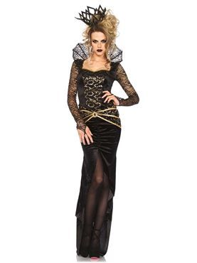 Adult Deluxe Evil Queen Costume by Fancy Dress Ball