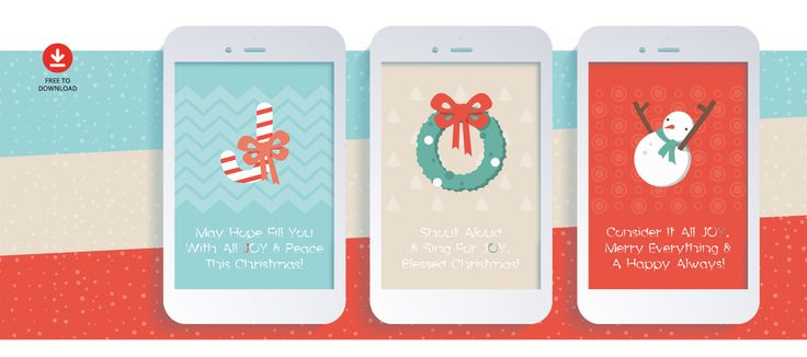 Free Christmas Greeting Card Design