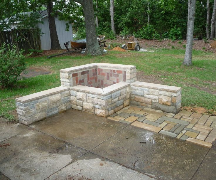 Masonry fire pit DIY