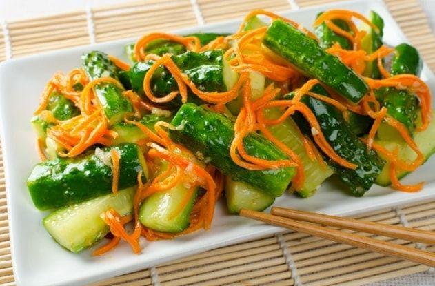 рецепт острого салата