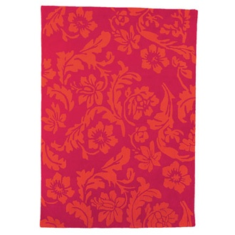 Fuchsia And Orange Floral Wool Rug! Iu0027m In Love With This But Waaaay Out Of  My Price Range.