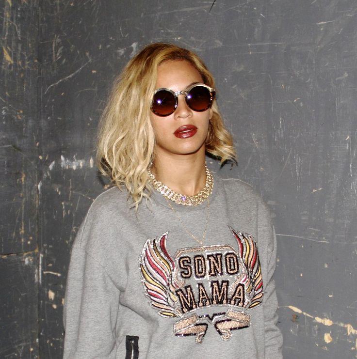 Beyoncé et son carré ondulé photo
