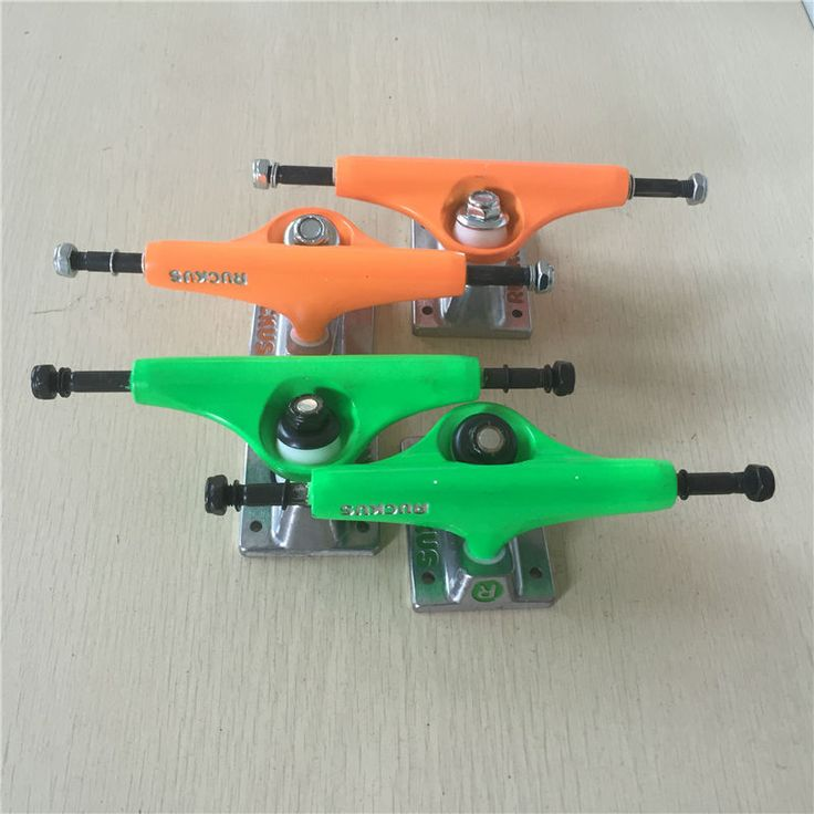 "2Pcs Quality 5.0"" Rocus Skate board Truck designed WITH pure color for pro skateboard deck best skateboard part and best price"