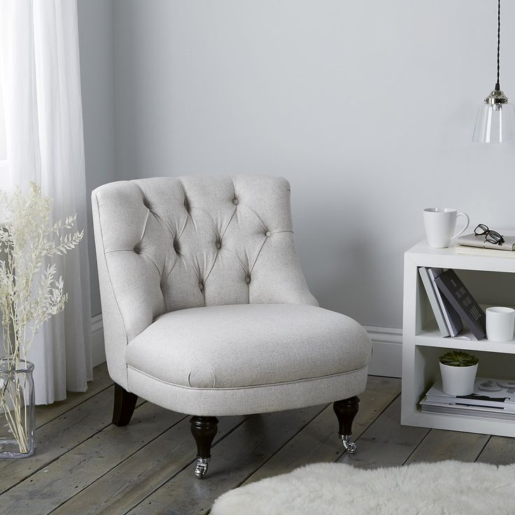 Richmond Tub Chair Linen Union | Sofas & Armchairs | Furniture | Home | The White Company UK