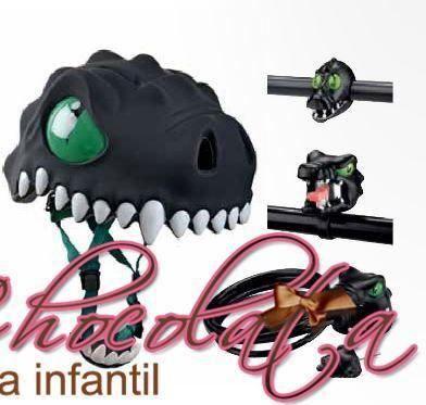 Casco Infantil para Bicicleta Dragón Negro