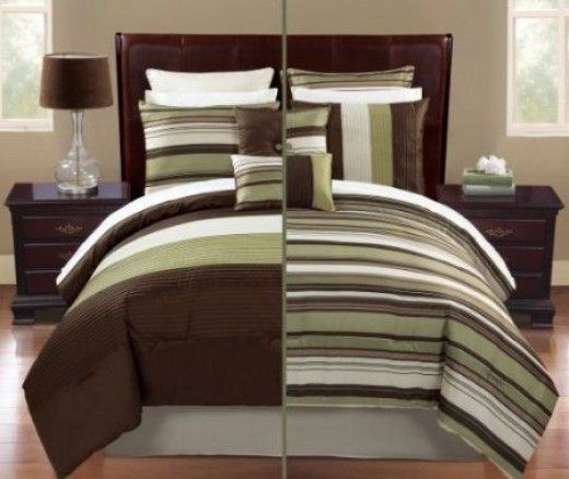 Brown And Green Bedroom Ideas: 33 Best Green And Brown Bedding Images On Pinterest