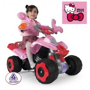 Coche eléctrico Hello Kitty en http://www.tuverano.com/coches-electricos-infantiles/419-coche-electrico-hello-kitty.html