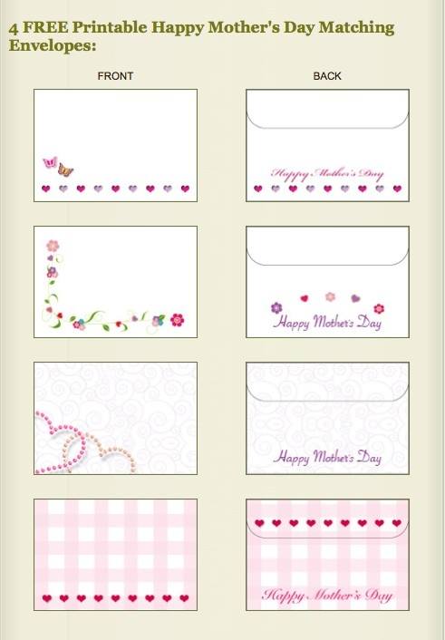 17 best images about printable envelopes on pinterest colors mother 39 s day and birthdays. Black Bedroom Furniture Sets. Home Design Ideas
