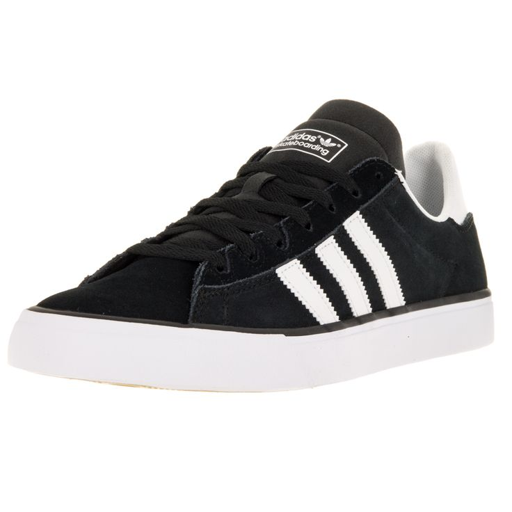Adidas Men\u0027s Campus Vulc Ii /White/Gum3 Skate Shoe