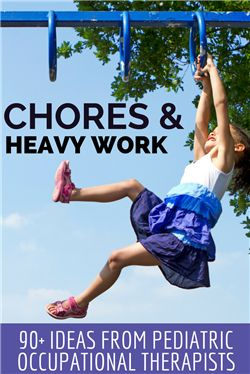 90+ Heavy Work Activities & Chores for Kids as a Solution to Aggression - Checking the Pulse - AOTA Blogs - OTConnections