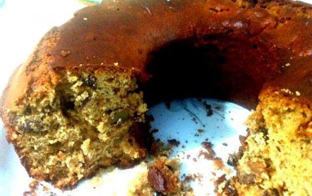 Νηστίσιμο κέικ με ταχίνι-πορτοκάλι - iCookGreek