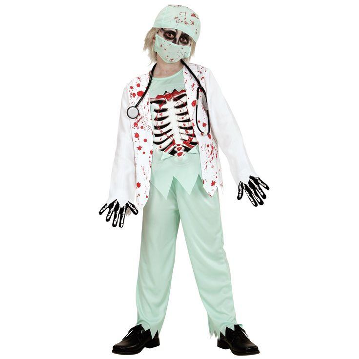 Disfraz Doctor Zombie Infantil - Comprar Online {Miles de Fiestas}