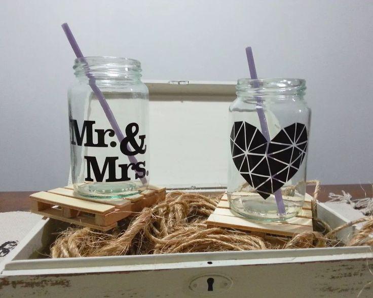 frascos vaso fiestas tragos souvenir frases, personalizado!!