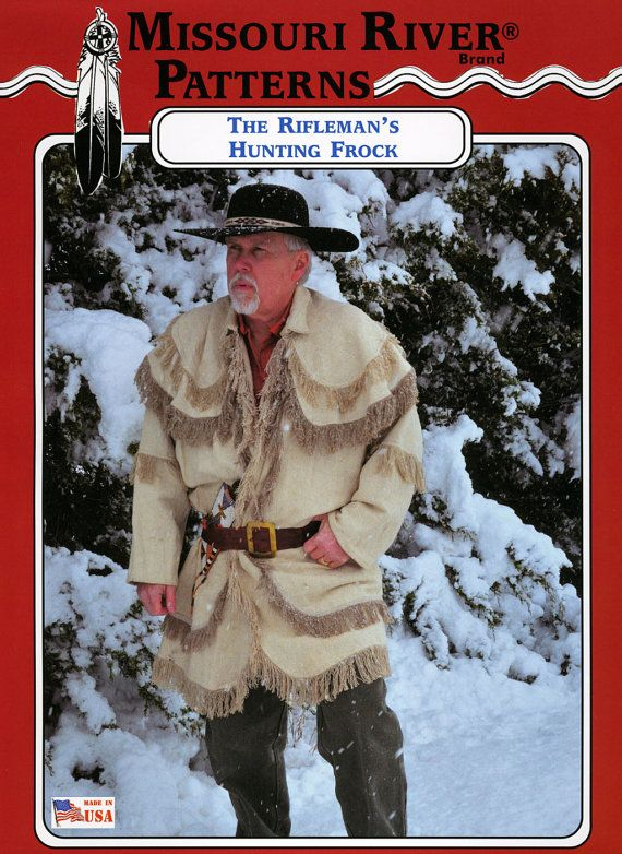 Missouri River Rifleman S Hunting Frock Shirt Fringed Coat
