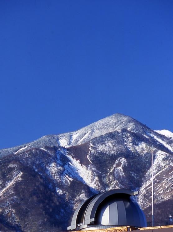 晴れた日には南アルプスや富士山も見渡せます。