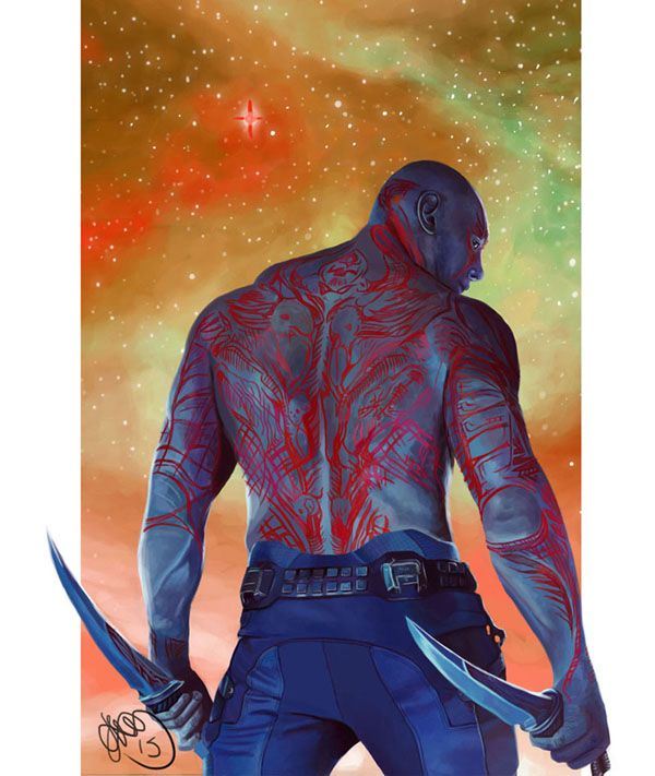Guardians of the Galaxy - Drax the Destroyer by Helonzyz.deviantart.com on @DeviantArt