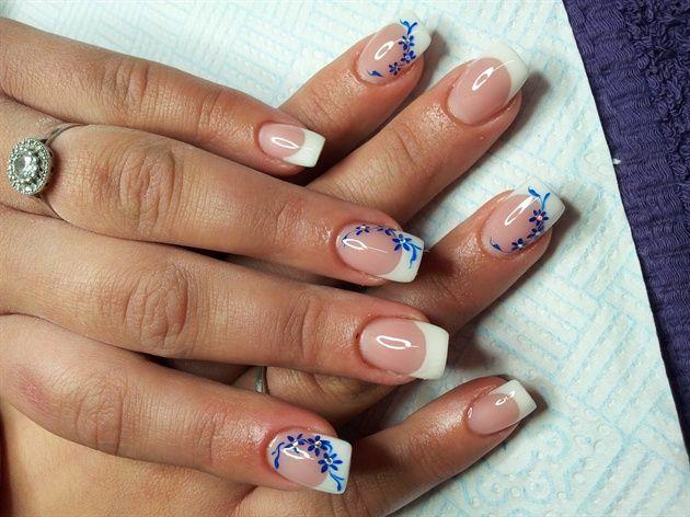 Quick salon design by Kristina - Nail Art Gallery nailartgallery.nailsmag.com by Nails Magazine www.nailsmag.com #nailart