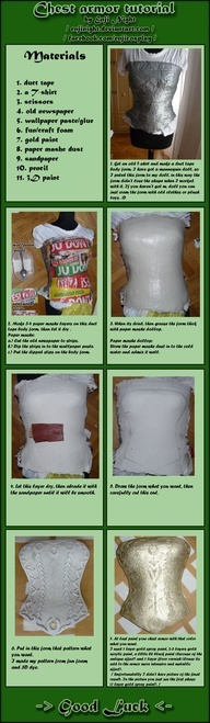 "This method can be easily modified to make armor for any part of the body! 3 Chest armor tutorial by *EnjiNight on deviantART"" data-componentType=""MODAL_PIN"