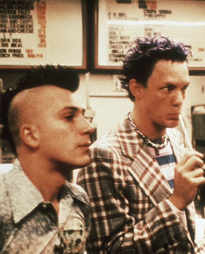 SLC Punk! MY MOST FAVORITE OF FAVORITES. Absolutely love Matthew Lillard in this movie. Overview of a couple punks in Salt Lake City in the 80's and their journey through their 'scene'. Definitely a classic and must see for the ones who haven't seen it.