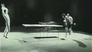For us #martialarts enthusiasts, #BruceLee playing ping pong has to be one of the coolest YouTubes out there.