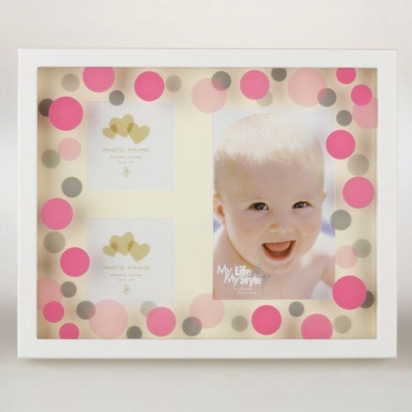 różowa ramka dziecięca