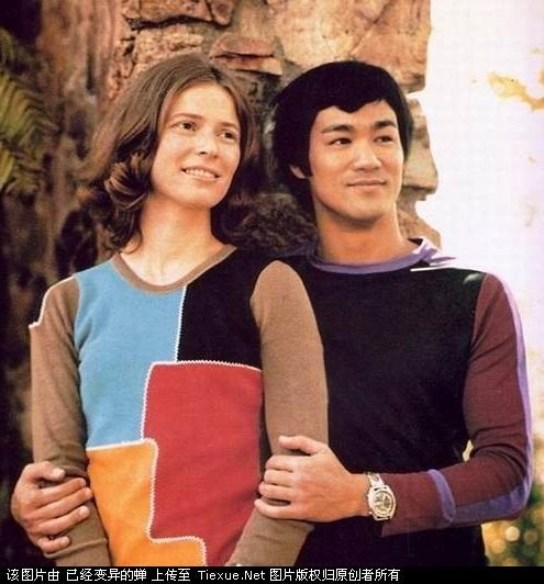 bruce lee wife | Bruce lee and his wife(1)