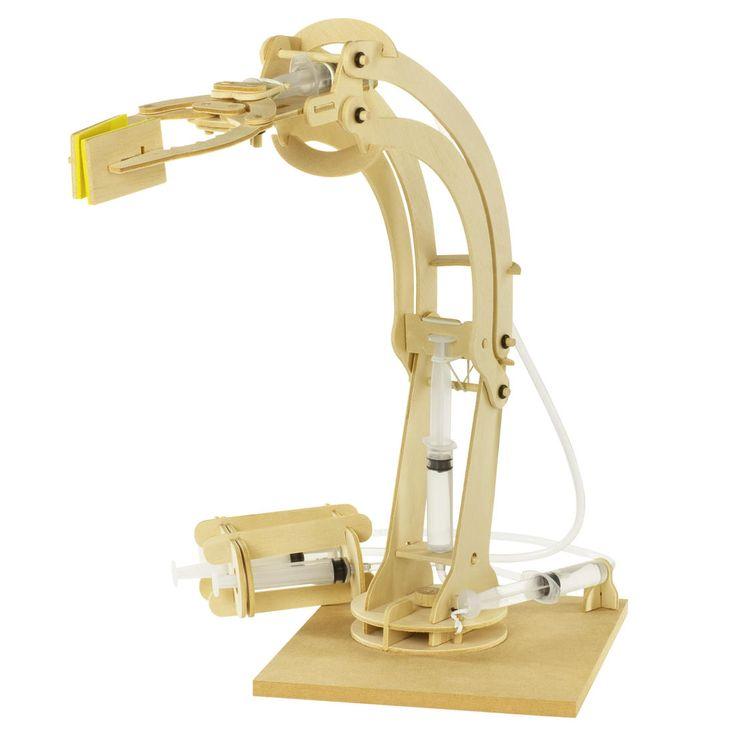 Hydraulischer Roboterarm Bausatz | getDigital