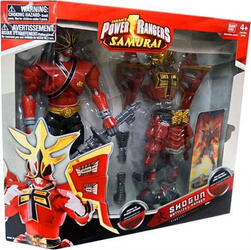 Power Rangers Samurai Shogun Battlized Ranger Fire 12 Inch Action Figure
