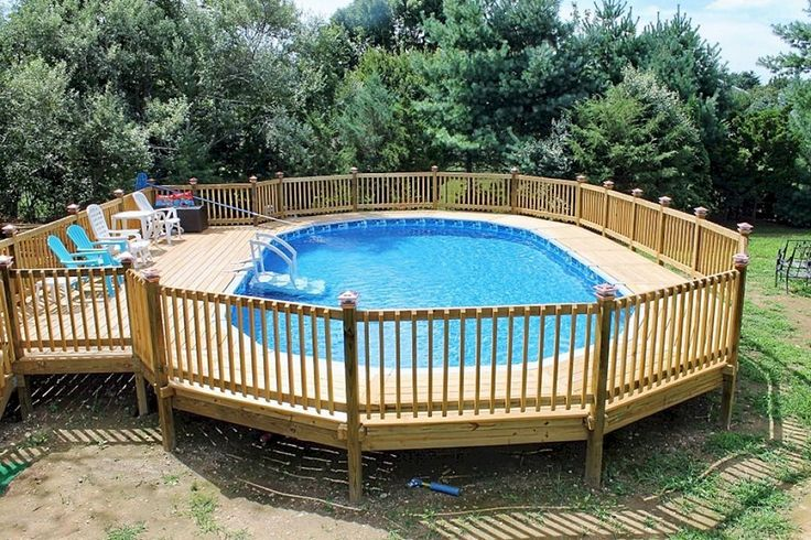 best 25 above ground pool decks ideas on pinterest swimming pool decks pool decks and above. Black Bedroom Furniture Sets. Home Design Ideas