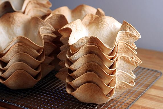 How to Make Tortilla Bowls & Cups - A variety of sizes for tacos, salads, appetizers & more