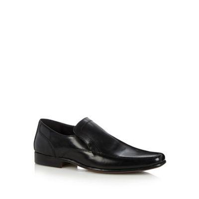 Thomas Nash Black slip on leather shoes- at Debenhams.com