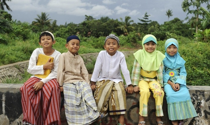 muslim kids indonesia