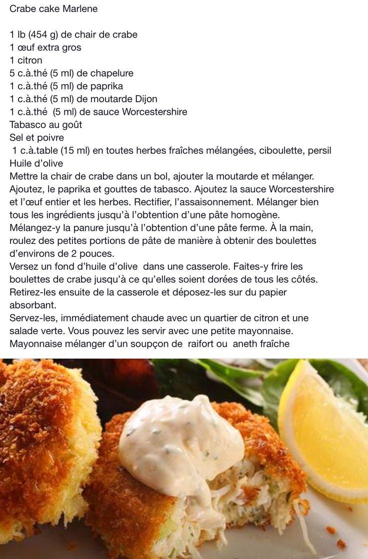 Crab cakes marlene recipe recipes food holiday recipes