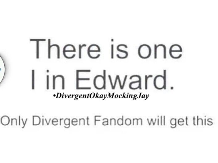 only the TRUE divergent fans will get this….not the ones who only saw the movie!