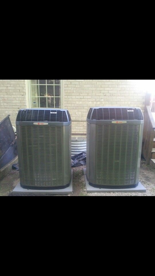 New hi efficient trane ac unit