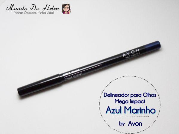 Delineador para Olhos Mega Impact: Azul Marinho http://wp.me/p1x69g-2eC