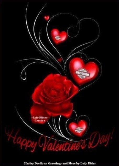 Harley Davidson Love Quotes Entrancing Harley Davidson Valentines Day Imagesvalentines Day Calendar