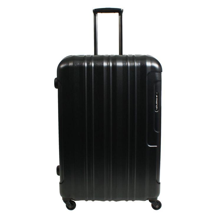 Mittelgroßer Koffer March15 Cosmopolitan  bei Koffermarkt: ✓Polycarbonat-Hartschale ✓4 Rollen ✓schwarz ⇒Jetzt kaufen